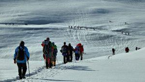 çakankaya kar yürüyüşü